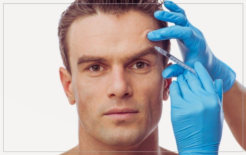 Erkekler için botoks