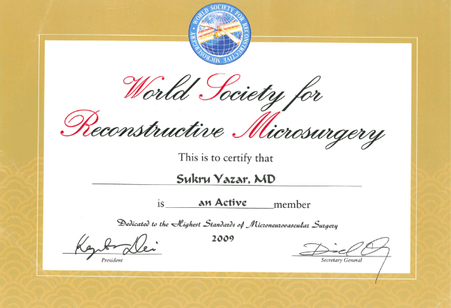 World Society For Reconstructive Microsurgery