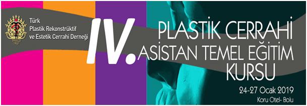 IV. Plastik Cerrahi Asistan Temel Eğitim Kursu