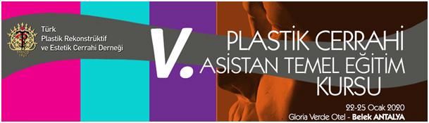 V. Plastik Cerrahi Asistan Temel Eğitim Kursu
