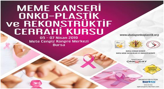 Meme Kanseri Onko-Plastik ve Rekonstrüktif Cerrahi Kursu